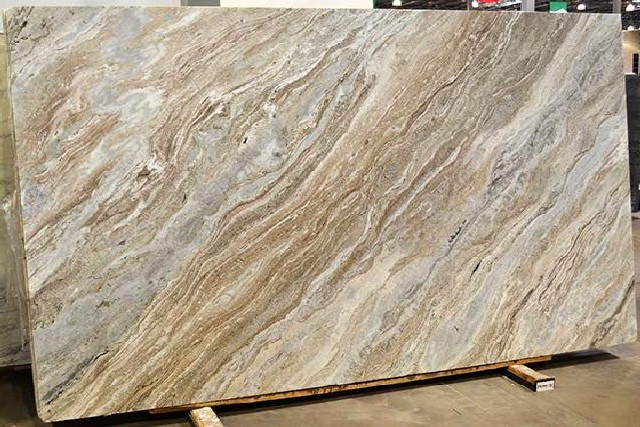 Brown Fantasy Quartzite Slab
