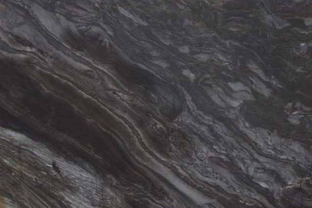Black Fantasy Leathered Quartzite