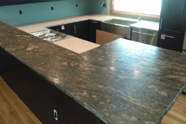 Granite and Quartz Slab 1
