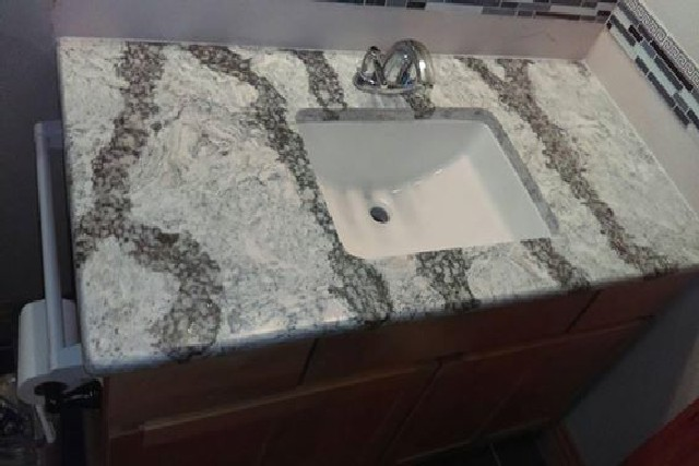 Slab Countertops Sink 1